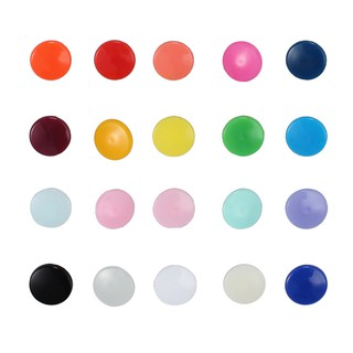 Sale 300 Sets KAM Snap Kits Size 20 T5 Plastic Snaps