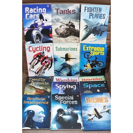 Usborne Non-fiction books set of 14 books เหมาะสำหรับ 7+