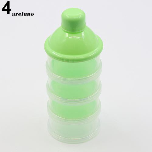 Powder For Infant Baby Bottle 3/&4 Layer Feeding Milk Powder Bottle Container