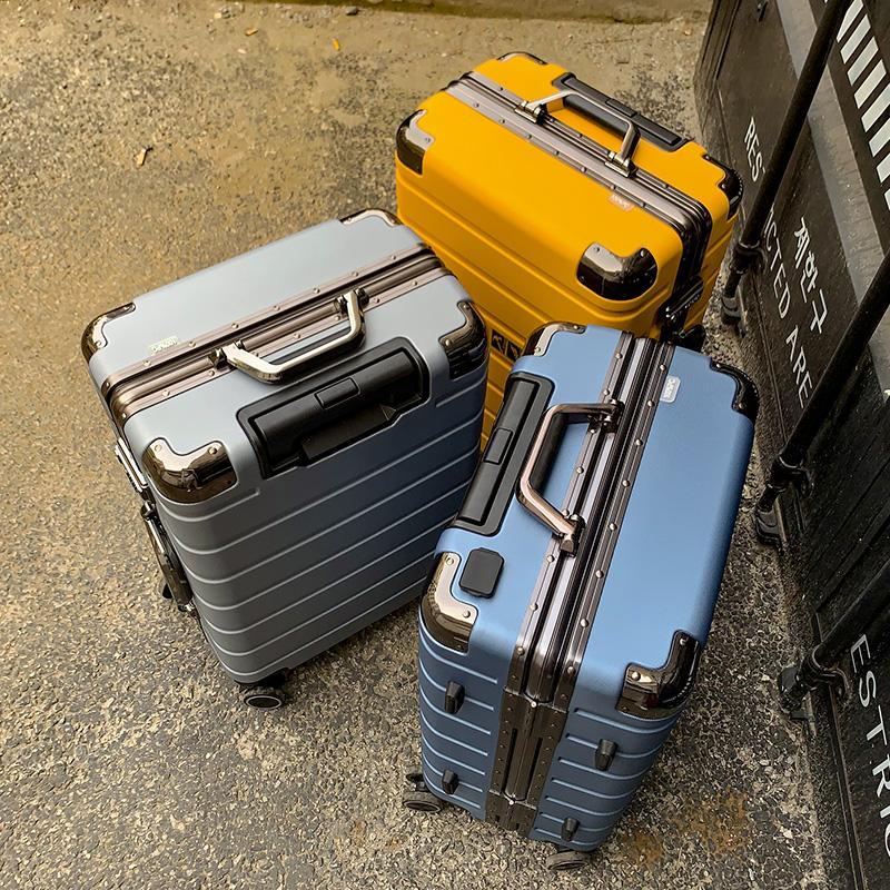 กระเป๋าเดินทางล้อลาก CODCKกรอบอลูมิเนียมpcกระเป๋าเดินทางผู้ชายและผู้หญิง24-รถเข็นล้อเลื่อนขนาดนิ้ว26กระเป๋าเดินทางกระเป๋