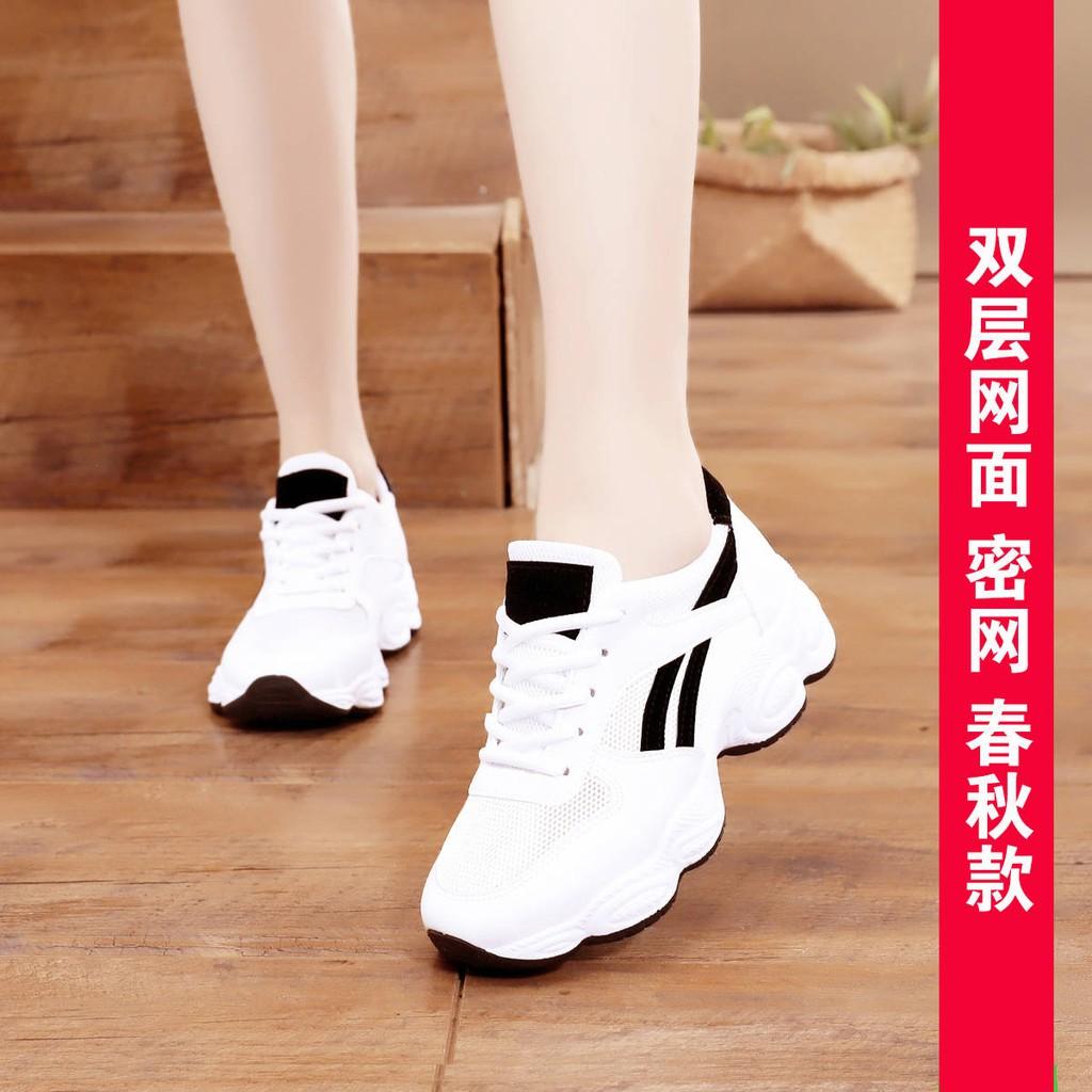รองเท้าคัชชู ร้องเท้า รองเท้าผู้หญิง ♝รองเท้าเด็ก 2021 ฤดูใบไม้ผลิและฤดูร้อนใหม่รองเท้ากีฬาของผู้หญิงตาข่ายสบาย ๆ รองเท้