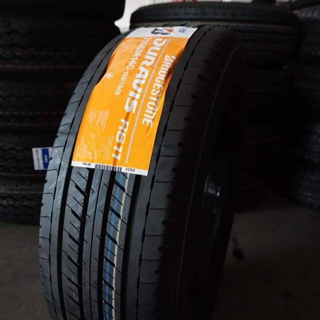 Duravis r611 Bridgestone 215/65R16C ปี2019