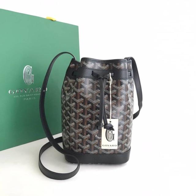 New Goyard Bucket Bag in Black. อปก.ถุงผ้า การ์ด ถุงกระดาษ