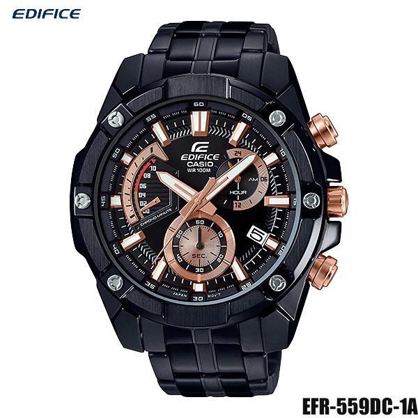 Casio Edifice นาฬิกาข้อมือผู้ชาย สายสแตนเลส รุ่น EFR-559DC-1A