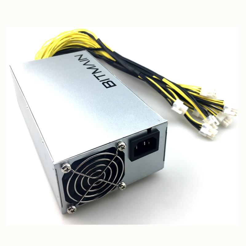 1800W C ower Suly for Bitcoin Miner 1800W Mining Machine SU ower Suly for Bitcoin Litecoin Antminer asic s9 ethereum ATX