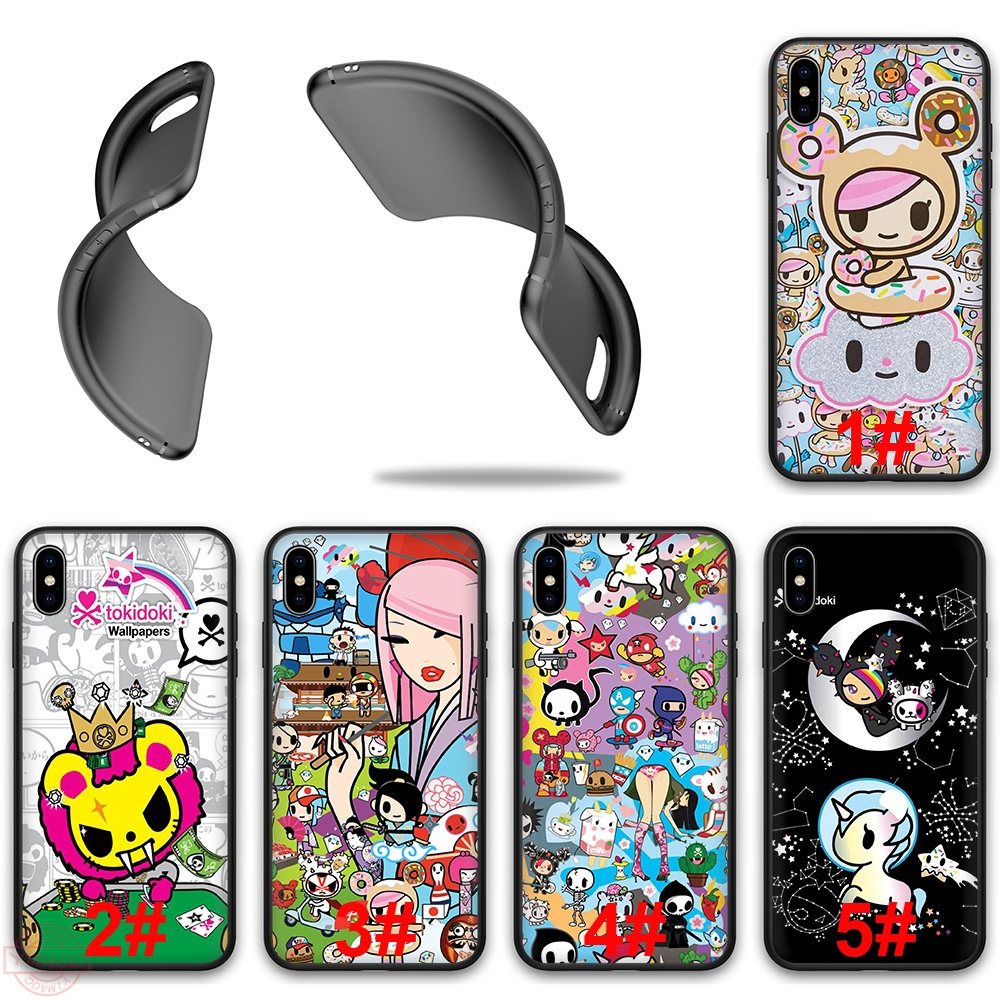 Kawaii Tokidoki Hello Kitty Iphone Xs Max Xr X 8 Plus 7 Plus 6s Plus 6 11 Pro Max Soft Silicone Tpu Case Cover