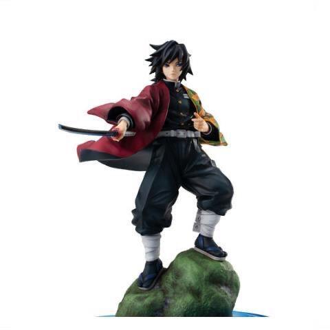 Direct selling GEM Demon Slayer Blade Tomioka Yoshiyuki Water Pillar Battle Statue Figure Figure Model