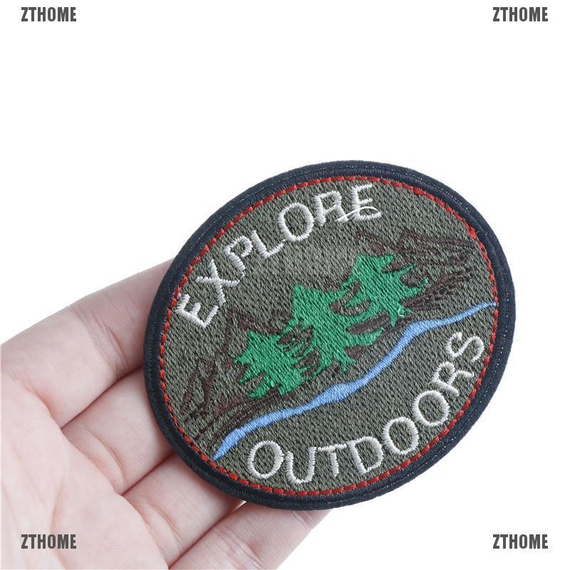 explore diy badge patch embroidered applique sewing patches clothes stickers new