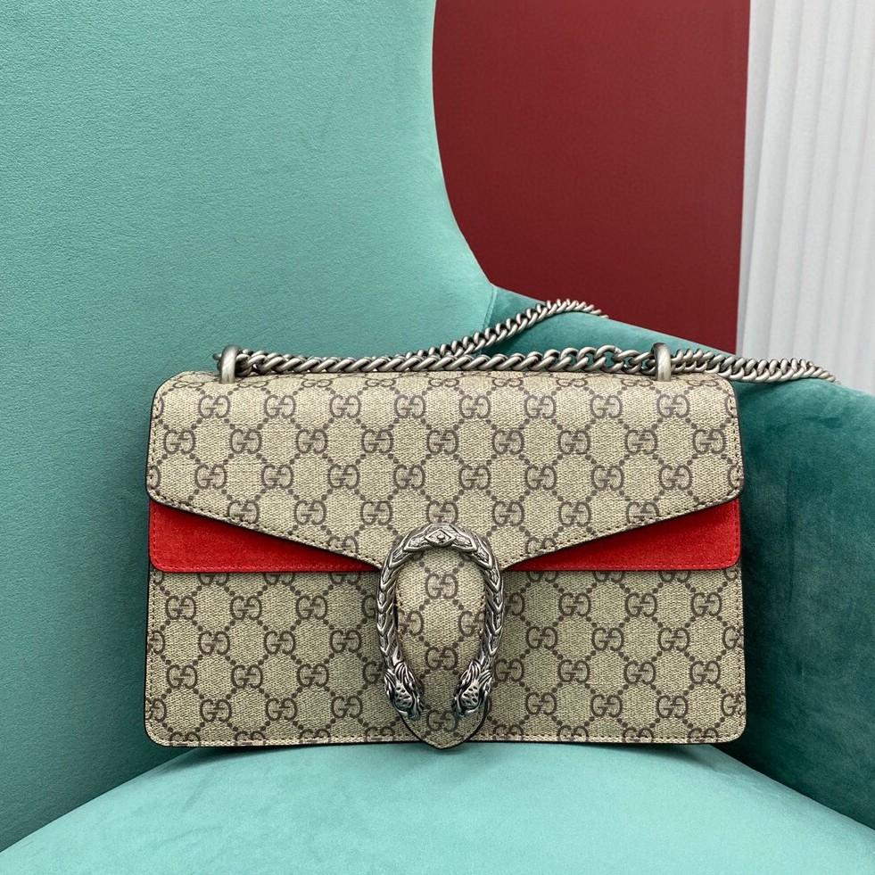 gucci dionysus medium กระเป๋าสะพายกระเป๋าสะพายไหล่กระเป๋าสะพายข้าง หนังแท้แบรนด์เนน กระเป๋าแฟชั่น