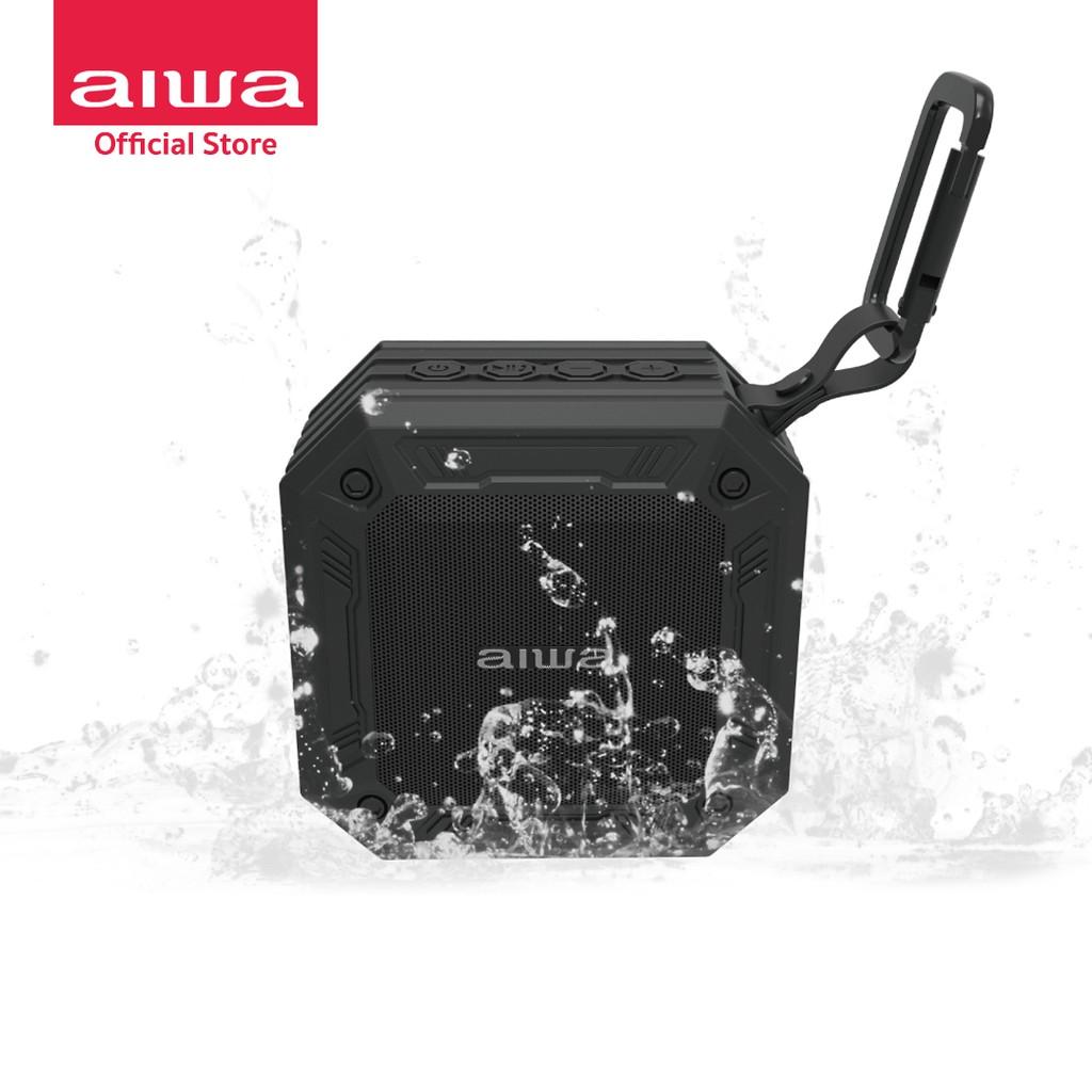 AIWA SB-X80 Mini Bluetooth Speaker ลำโพงบลูทูธพกพามินิ กันน้ำระดับ IPX7