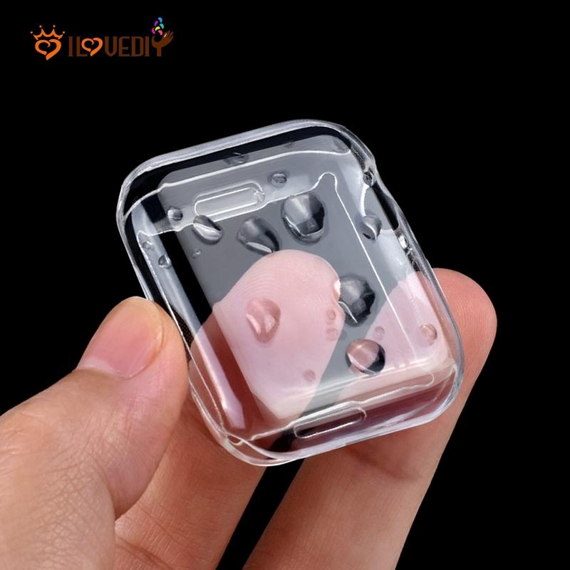 เคสป้องกันรอยอุปกรณ์เสริมสําหรับ apple watch series 5 & series 4/ใสสําหรับ iwatch size 40 มิลลิเมตร 44 มิลลิเมตร/tpu