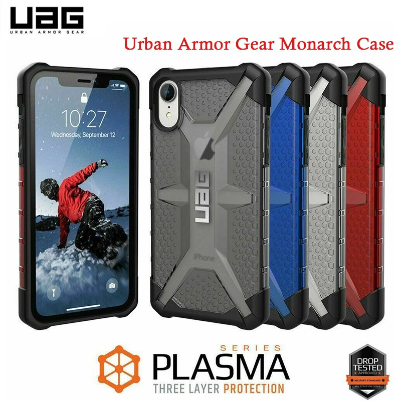 เคสกันกระแทก เคส UAG Urban Armor Case UAG Plasma รุ่นใหม่! งานเกรด for IPHONE 6 6s 7 8 PLUS X XR XS MAX เคสกันกระแทก