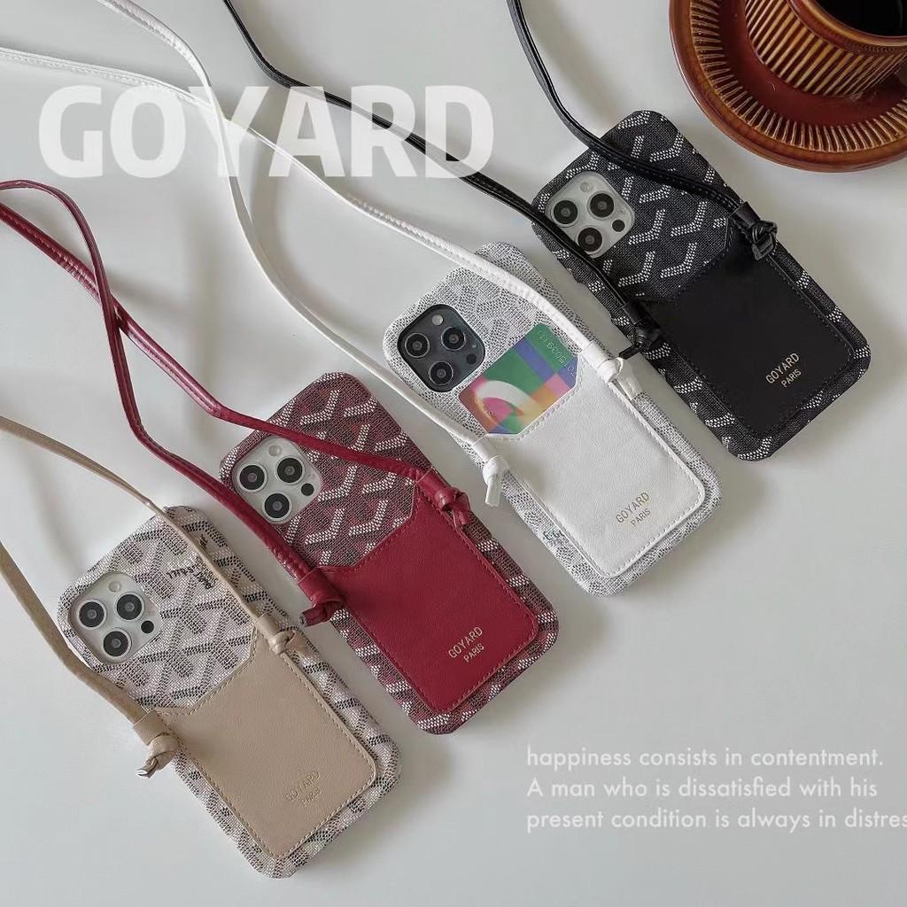 เคสโทรศัพท์มือถือลาย GOYARD GOYARD สําหรับ iPhone XS X SE2 7 8Plus
