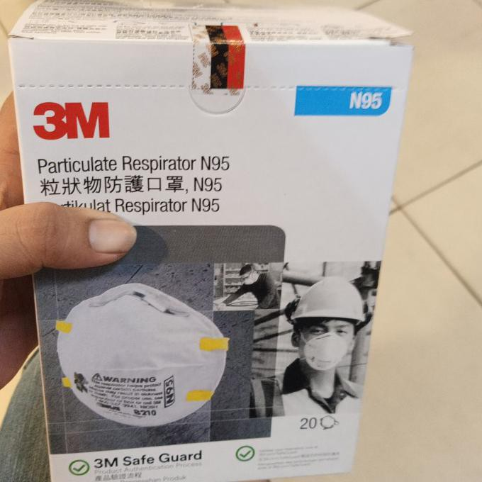 3m N95 8210 หน้ากากสําหรับมาส์กหน้า DaDW