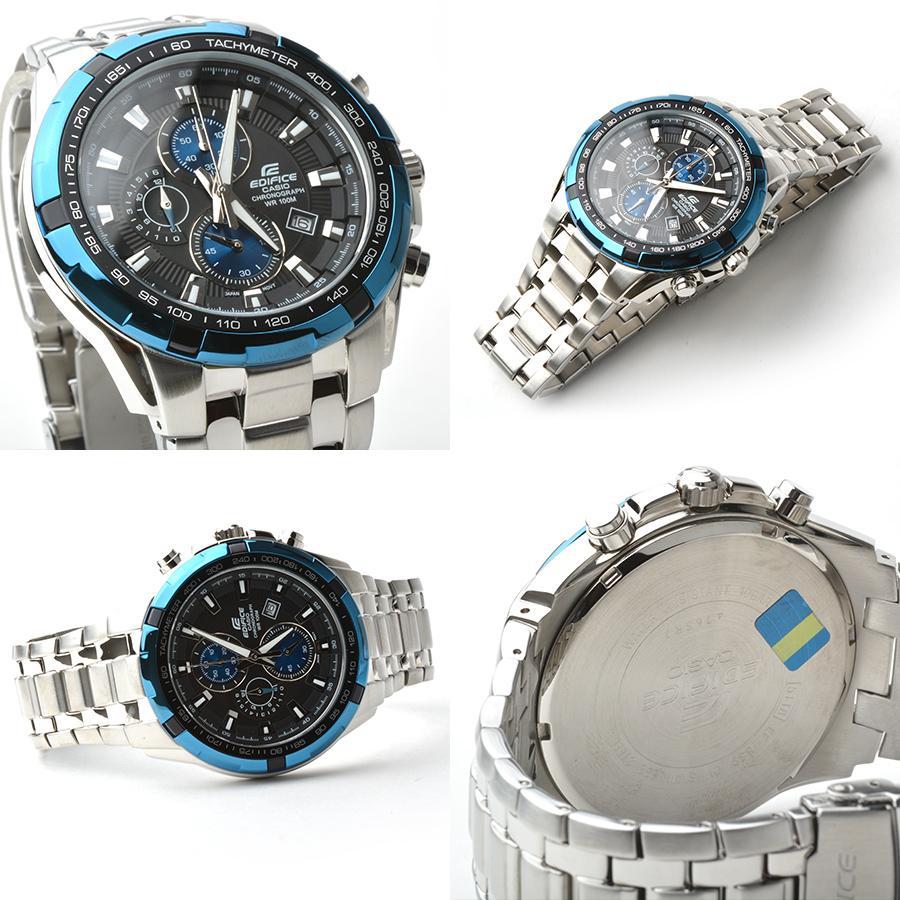 (สินค้าใหม่ล่าสุด) Casio Edifice รุ่น EFR-539D-1A2V สินค้าขายดี นาฬิกาข้อมือผู้ชาย สายสแตนเลส Men's Watch