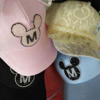 (เก็บปลายทาง)หมวกมีโบว์สำหรับเด็กหญิงcute+10