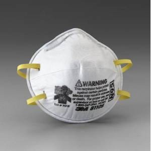 3Mหน้ากาก8210ป้องกันฝุ่นละออง,เชื้อโรคN95(บรรจุ5ชิ้น/แพค)