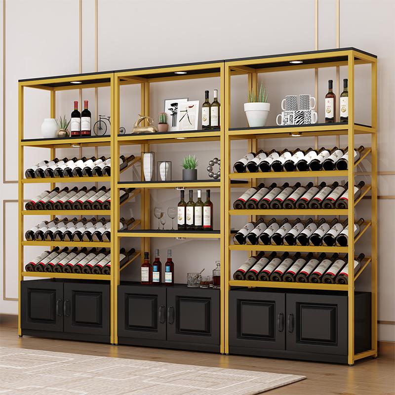 ตู้แช่ไวน์ยืนแสดงซูเปอร์มาร์เก็ตสุรากรอบโรงกลั่นเหล้าองุ่นตู้ชั้นเก็บเหล็กชั้นวางตู้โชว์ชั้นวางไวน์