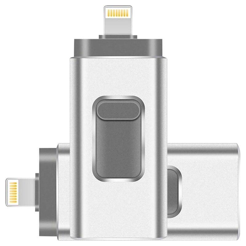 แฟลชไดรฟ์ Usb 32 Gb 64 Gb Iphone 8 7 Plus