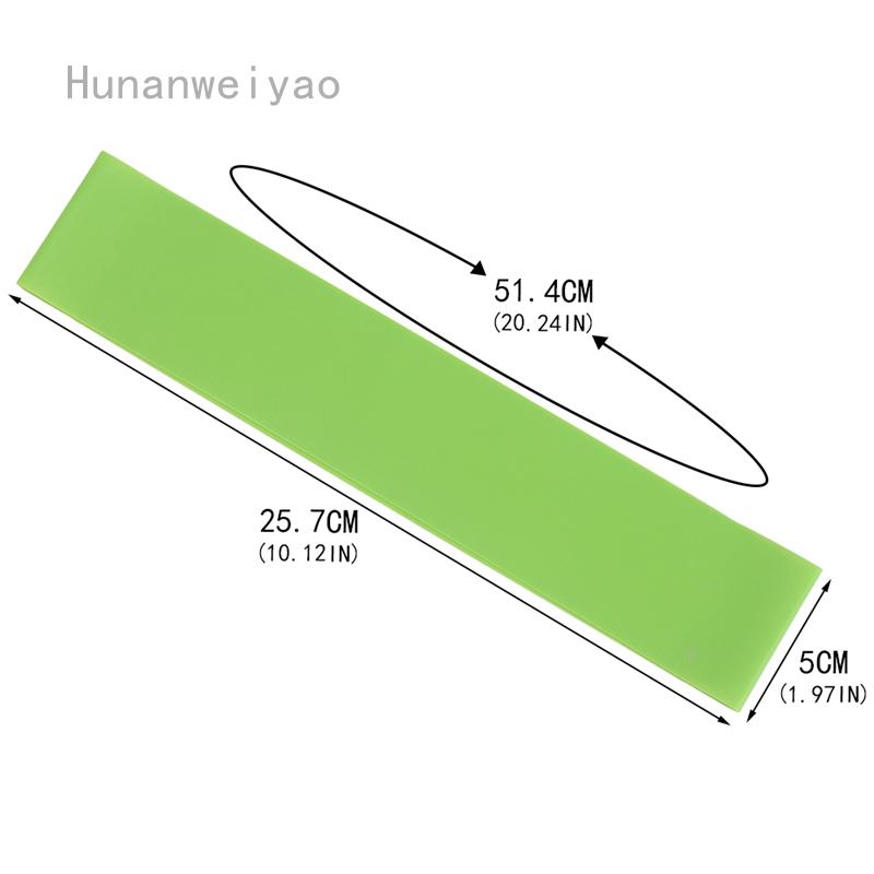 Hunanwyao ยางยืดออกกําลังกาย 10 ชิ้น