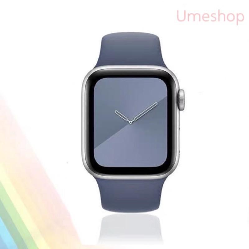 ﹊✿℡พร้อมส่ง‼️สายสำหรับ Apple Watch สีมาใหม่ series 6 5 4 3 2 1 สำหรับ applewatch ขนาด  42mm 44mm 38mm 40mm