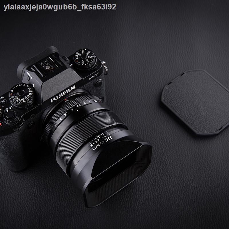 ศีล◑▧JJC ใช้ Fuji LH-XF23 เลนส์ฮูด XF 23mm f1.4 R เลนส์ 56mm F1.2R / XF56mm F1.2 APD กล้อง XT30 XT3 โลหะสี่เหลี่ยม 62 ม