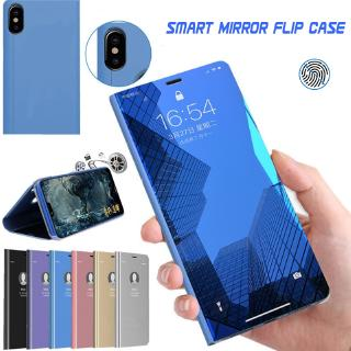 Review Smart Mirror Flip Case Samsung Galaxy Note 10 Lite 10+ Plus A2 CORE A20E A60 A80 S10 S10E Lite Case Holder Stand Cover