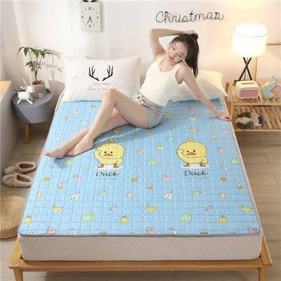 ที่นอน topper ผ้ารองนอน 3 ฟุต 5 ฟุต 6 ฟุต ✱Bed Mat 1.5 Home Sleep Pad นักศึกษาหอพักนักศึกษา 1.2 ที่นอนกว้างฟองน้ำป้า 1.8