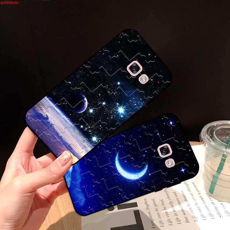 Samsung A3 A5 A6 A7 A8 A9 Pro Star Plus 2015 2016 2017 2018 HXKYJ Pattern-3 Silicon Case Cover