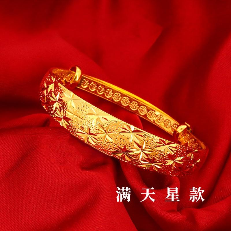 👍ลดราคา👍✔☜□✨พร้อมส่ง✨กำไลทองชุบ กำไลทอง ไม่ลอกไม่ดำ 2บาท 12 mm ชุบเศษทองเยาวราช สวยเหมือนทองจริง