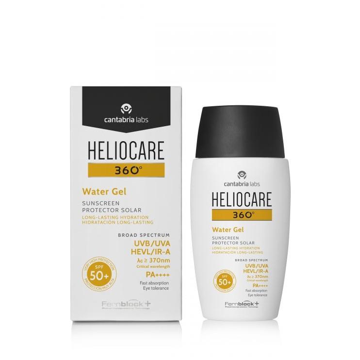 (พร้อมส่ง) Heliocare Water Gel SPF50+ เฮลิโอแคร์ 360 กันแดดแบบเจล กันน้ำ กัน pm2.5 ป้องกันทุกรังสี