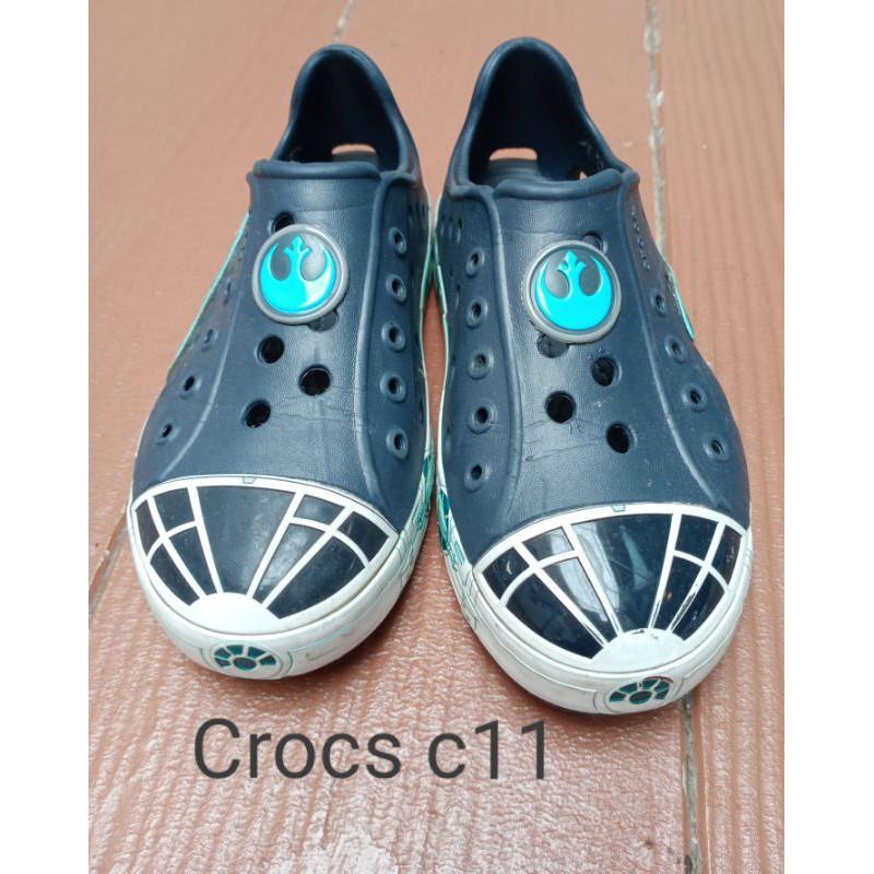 Crocs แท้💯 รองเท้าเด็ก สภาพดี