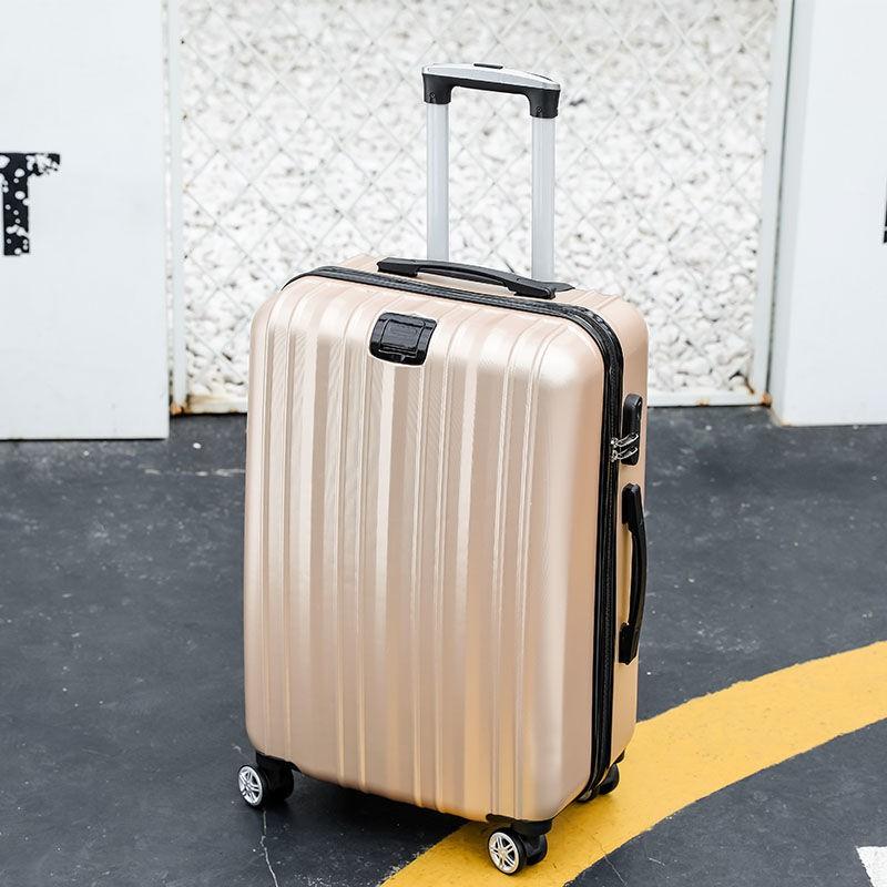 ◑✲♠เวอร์ชั่นเกาหลีของกระเป๋าเดินทางนักเรียนน่ารักหญิง 24 นิ้วรถเข็นกรณีล้อสากลรหัสผ่านกล่อง 20 นิ้วกระเป๋าเดินทางกระเป๋