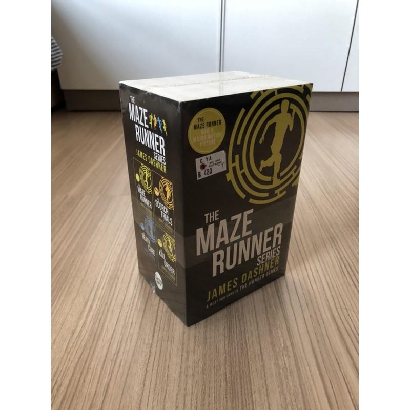 M aze Runner books set