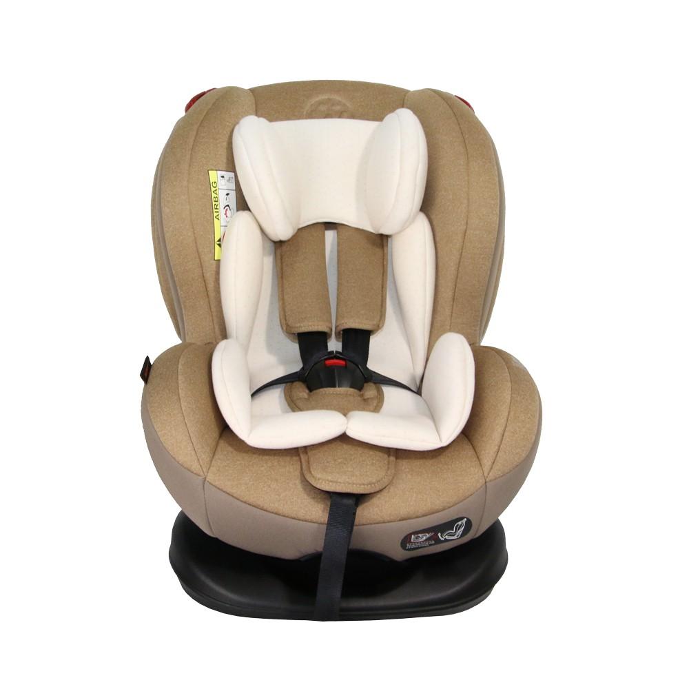 GLOWY คาร์ซีท เบาะติดภายในรถยนต์ รุ่น W Royal Baby III -Cappuccino Organic