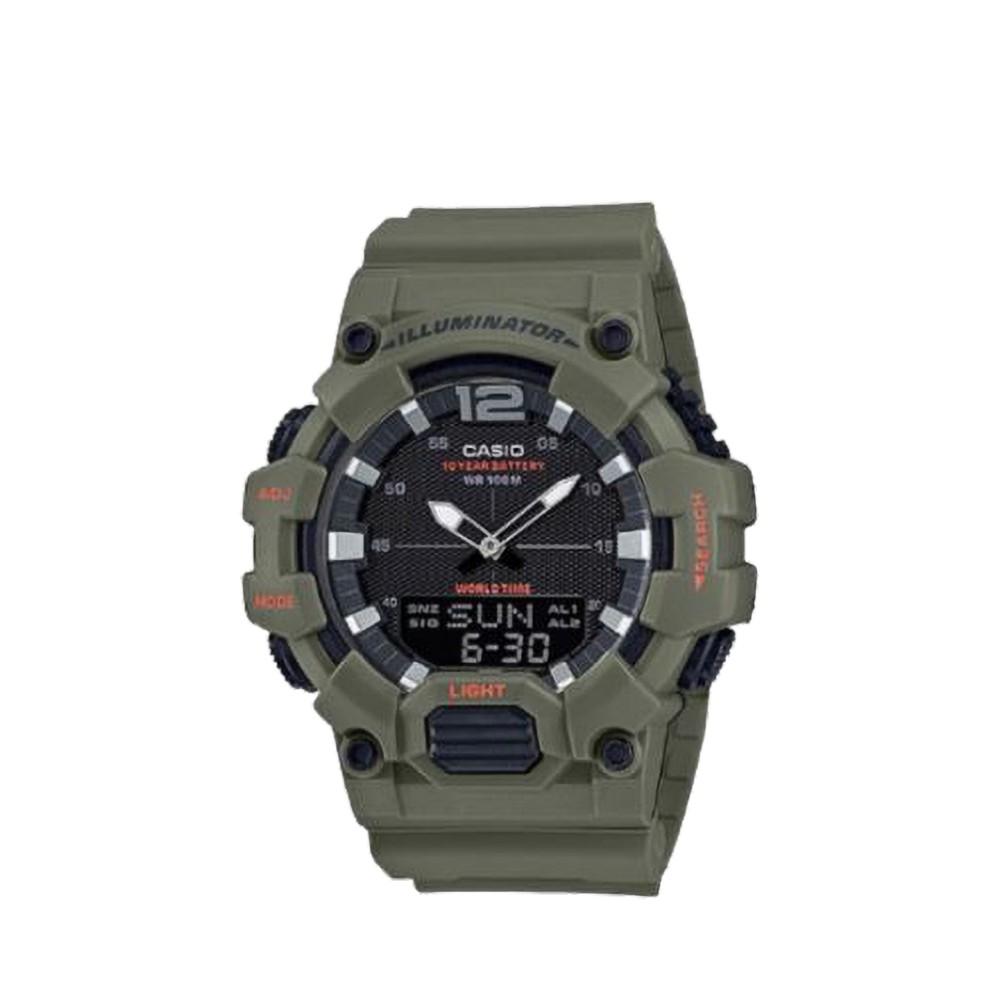 CASIO นาฬิกาข้อมือ GENERAL รุ่น HDC-700-3A2VDF นาฬิกากันน้ำ สายเรซิ่น