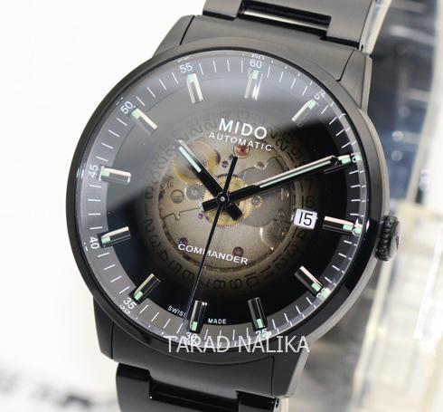 นาฬิกา MIDO Commander Gradient automatic M021.407.33.411.00 black pvd (ของแท้ รับประกันศูนย์)