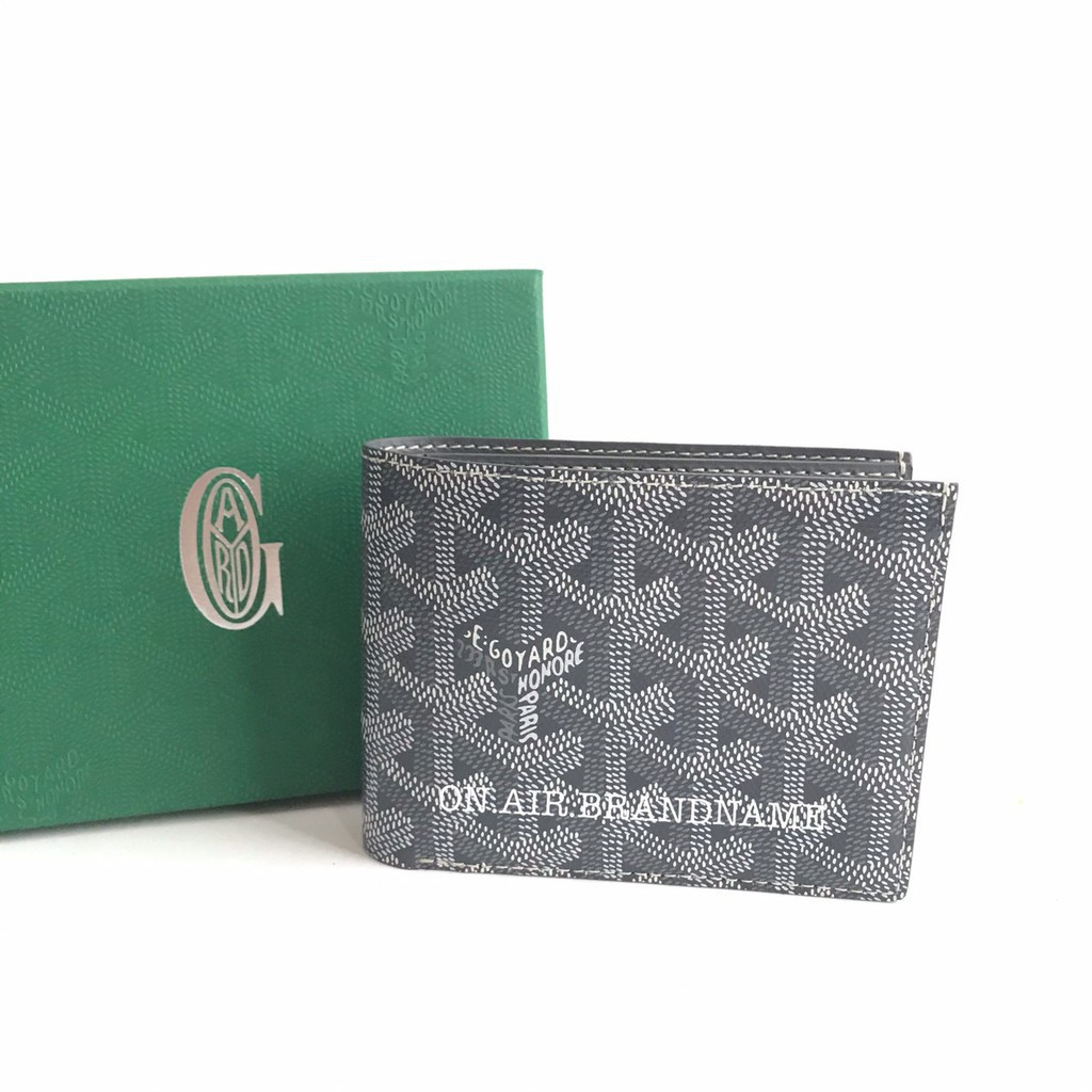 ❦۩∋New goyard wallet สีเทา สวยหายาก