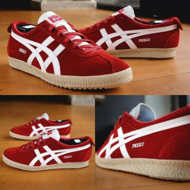 official photos b7278 4d3d9 Onitsuka Tiger , Mexico 66 Delegation Red