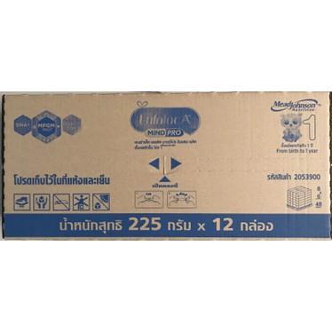 ราคาพิเศษ►นมผง Enfalac A+ 1 Mind Pro เอนฟาแล็ค เอพลัส มายด์ โปร สูตร ขนาด 225 กรัม x 12 กล่อง(ยกลัง)