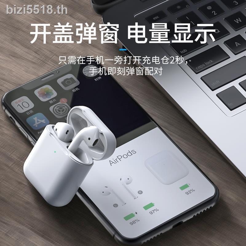 ชุดหูฟังบลูทูธไร้สายสําหรับ Apple Iphone 11 7 Plus Mini Sport