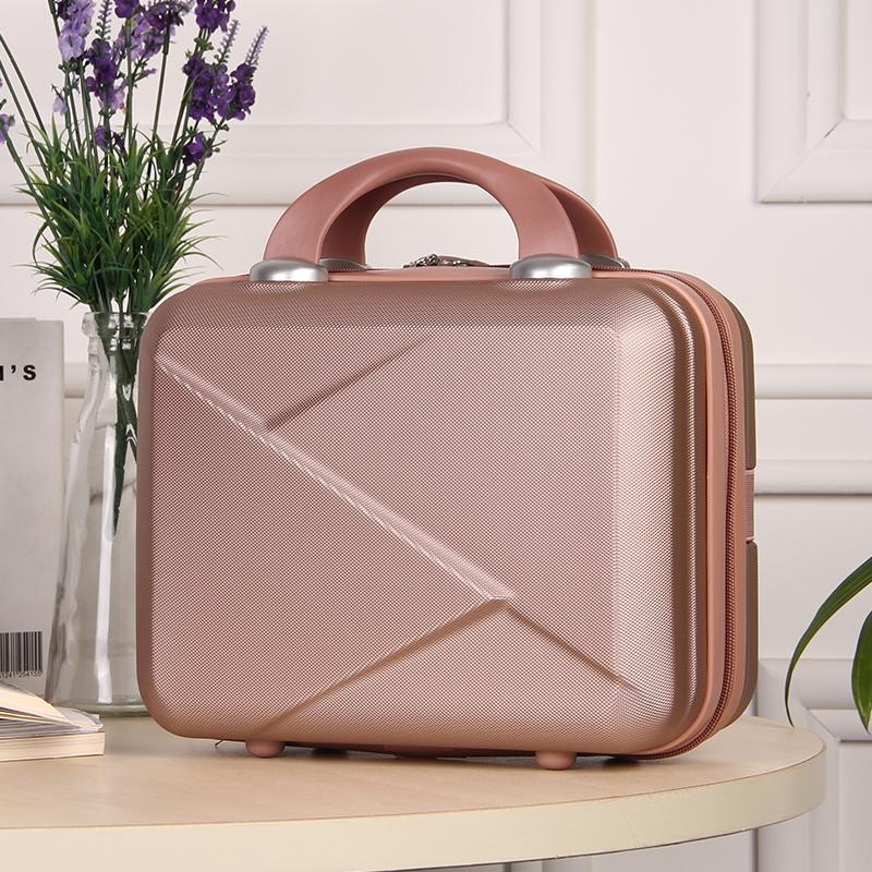 ★♥กระเป๋าแฟชั่นเกาหลีกระเป๋าเดินทางขนาดเล็กหญิง14-กระเป๋าเครื่องสำอางขนาดพกพานิ้ว16กระเป๋าคอมพิวเตอร์ขนาดมินิกระเป๋าเดิน