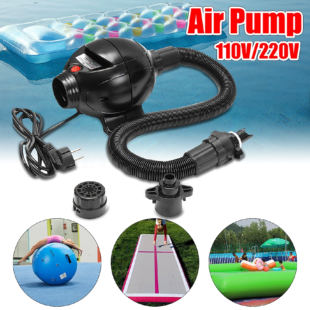 Electric Air Pump For Air Track Inflatable Tumbling Home Gymnastics Tumbling