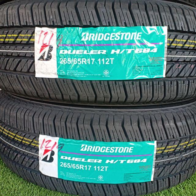ยางใหม่ปี19 Bridgestone Dueler HT 684 265/65R17