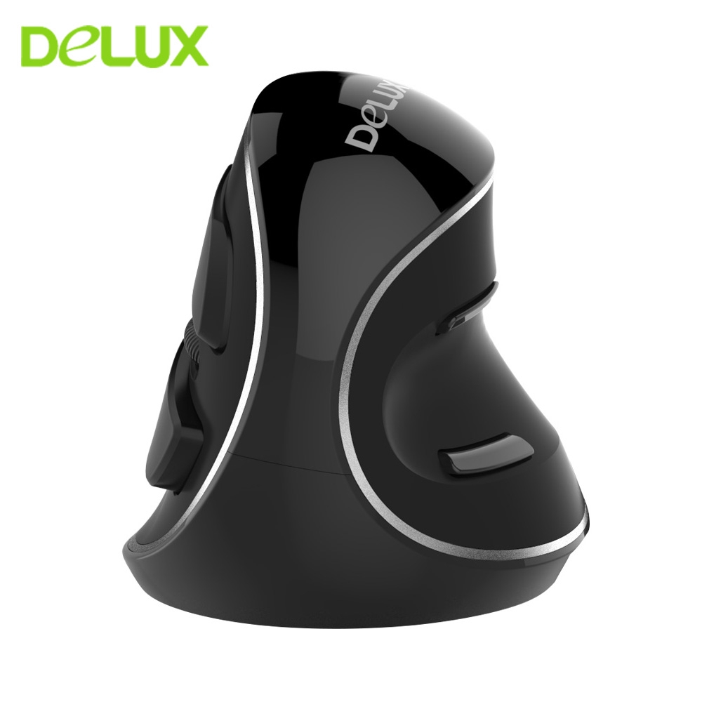 1000 DPI 5D USB Wireless Ergonomic Optical USB Vertical Mouse Mice For PC Laptop