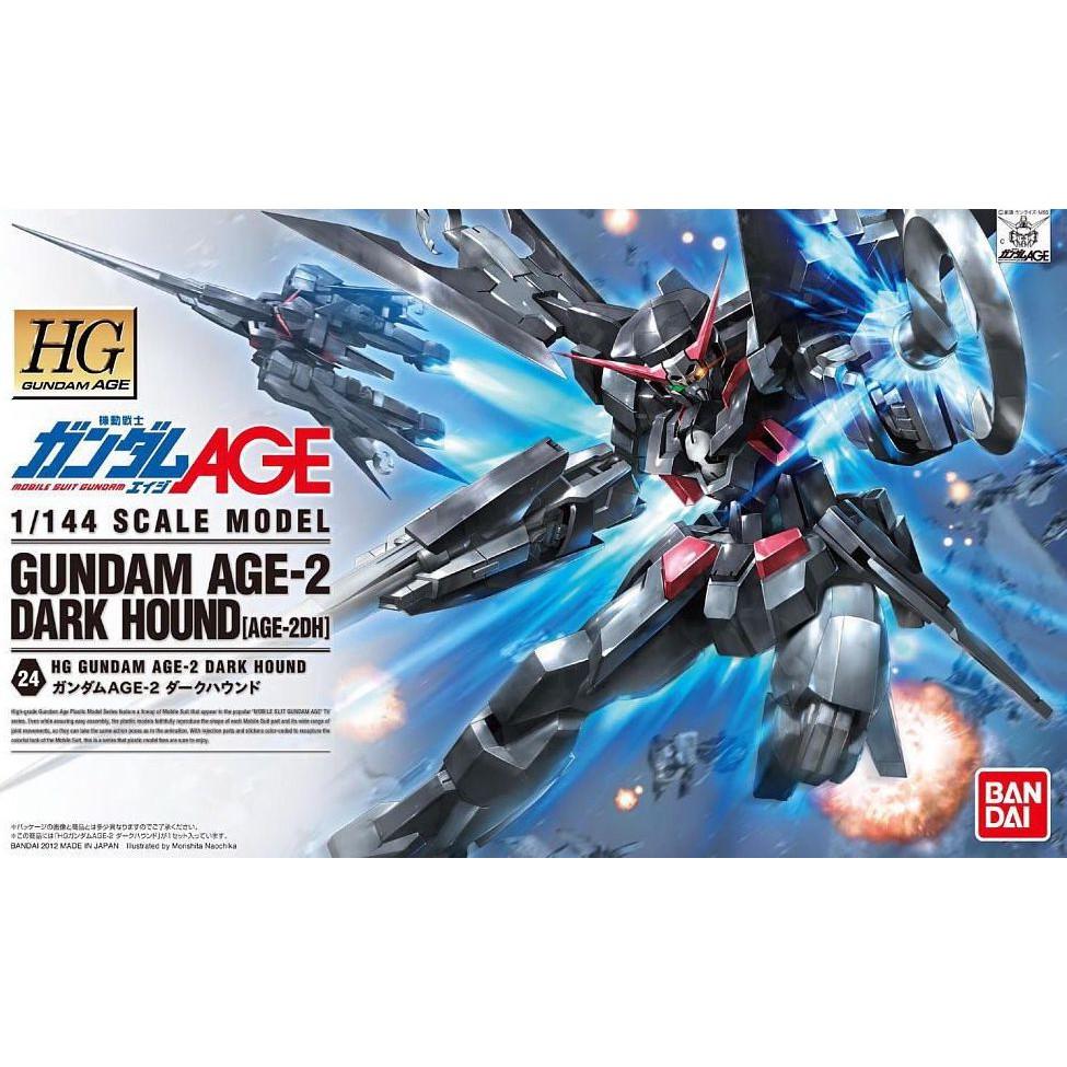 Bandai HG 1/144 Gundam Age-2 Dark Hound WOFU
