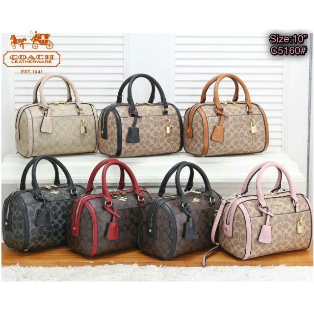 กระเป๋าสะพายข้างผู้หญิงสไตล์โค้ช coach bag style