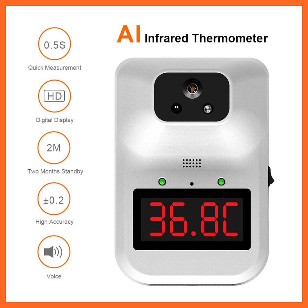 K3 plus💕💕เครื่องวัดไข้ เครื่องวัดไข้ติดผนัง เครื่องวัดอุณหภูมิร่างกาย เครื่องตรวจอุณหภูมิ