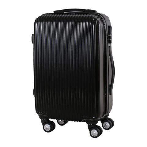 กำหนดเอง ABSวัสดุ ลายเส้นแนวตั้งรถเข็น 20 24 28-กระเป๋าเดินทางขนาดนิ้ว กระเป๋าเดินทางล้อสากล