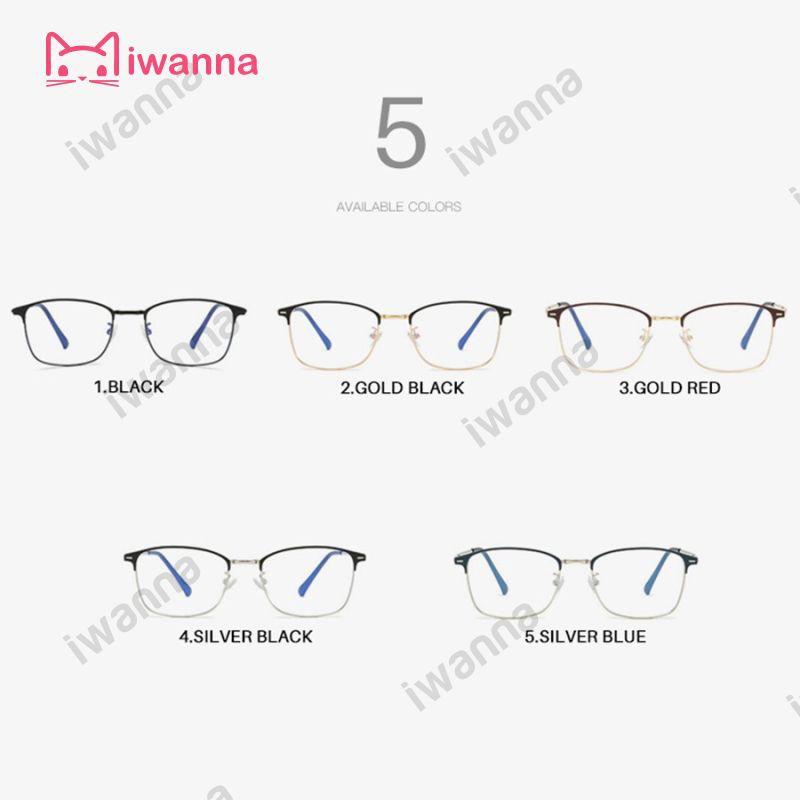 ใหม่ Anti-Blue Light Prescription Men Optical Eyeglasses Photochromic Glasses Frame Women Eyewear 4.8 iWN
